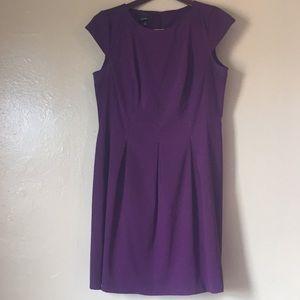 Plus-Size Dark Purple Dress